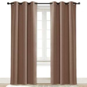Blackout Noise Reduction Curtains Thermal Insulated