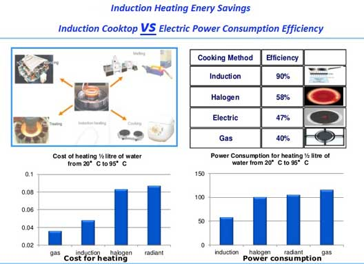 Induction Cooktop Power Usage