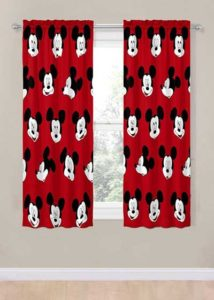 Mickey Mouse Curtains for kids