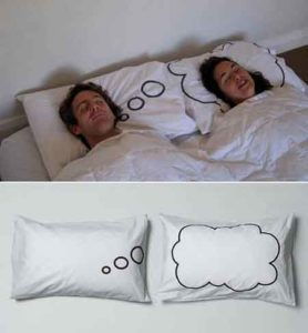 Romantic Pillow for newly wed couple