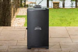Electric Smoker Grill Combo
