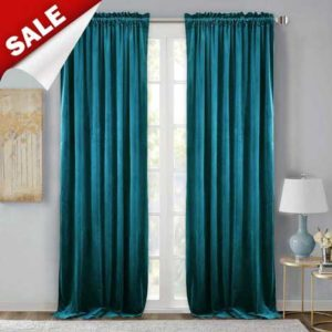 Thick Soundproof Velvet Curtains