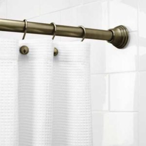 best tension shower rod on tile