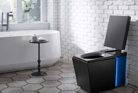 high tech smart toilets for smart home