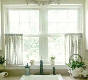 small kitchen window curtains for your kitchen