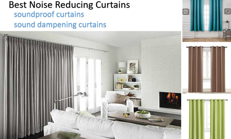 Best Noise Reducing Curtains